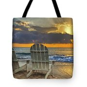 In The Spotlight Tote Bag by Debra and Dave Vanderlaan