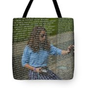 In Touch With The Past Tote Bag by Christi Kraft