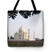 India, Temple Burial Site Seen Tote Bag by Bill Bachmann
