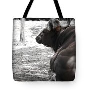 Indian Bison Tote Bag by Eyzen M Kim