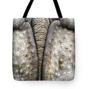 Indian Rhinoceros Tail Tote Bag by Konrad Wothe