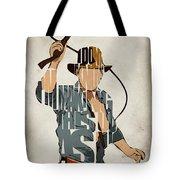 Indiana Jones - Harrison Ford Tote Bag by Ayse Deniz