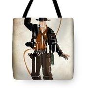 Indiana Jones Vol 2 - Harrison Ford Tote Bag by Ayse Deniz