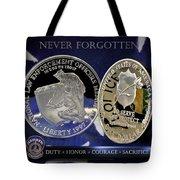 Indianapolis Metro Police Memorial Tote Bag by Gary Yost