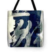 Inked Painted and Torn Tote Bag by Carol Leigh