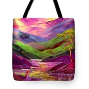 Inner Flame Tote Bag by Jane Small