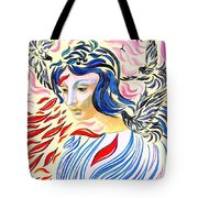 Inner Peace Tote Bag by Jane Small