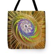 Inner Twister Tote Bag by Deborah Benoit