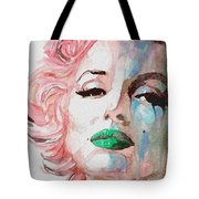 Insecure  Flawed  But Beautiful Tote Bag by Paul Lovering