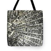 Inside Orbital City Tote Bag by Murphy Elliott