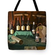 Inside The Wine Cellar Tote Bag by Allen Sheffield