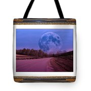 Inspiration in the Night Tote Bag by Betsy C  Knapp