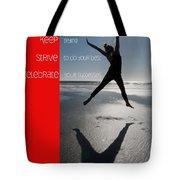 Inspiration Tote Bag by Lisa Knechtel