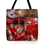 Inspiration - Truck - Waiting For A Call Tote Bag by Mike Savad