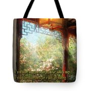 Inspirational - Happiness - Simply Chinese Tote Bag by Mike Savad