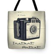 Instant Artist Tote Bag by Edward Fielding