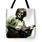 Instant Karma  John Lennon Tote Bag by Iconic Images Art Gallery David Pucciarelli