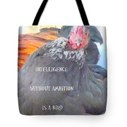 intelligence without Tote Bag by Hilde Widerberg