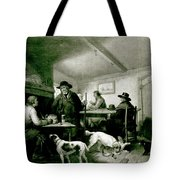 Interior Of A Country Inn Tote Bag by George Morland