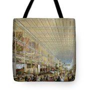 Interior Of The Great Exhibition Of All Tote Bag by Edmund Walker