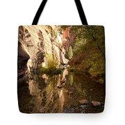 Into The Canyon  Tote Bag by Saija  Lehtonen