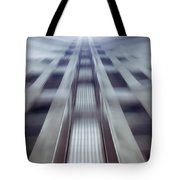 Into The Future Tote Bag by Wim Lanclus