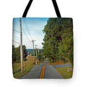 Into Town Tote Bag by Skip Willits