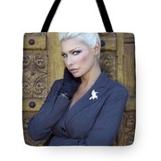 Intrigue Palm Springs Tote Bag by William Dey