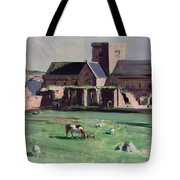 Iona Abbey From The Northwest Tote Bag by Francis Campbell Boileau Cadell