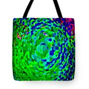 Iphone Case Covers For Cell And Mobile Phones Night Sky Northern Lights Carole Spandau Cbs Art 168 Tote Bag by Carole Spandau