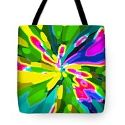 Iphone Cases Colorful Flowers Abstract Roses Gardenias Tiger Lily Florals Carole Spandau Cbs Art 181 Tote Bag by Carole Spandau