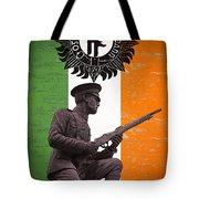 Irish 1916 Volunteer Tote Bag by David Doyle