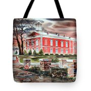 Iron County Courthouse No W102 Tote Bag by Kip DeVore
