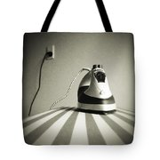 Iron Tote Bag by Les Cunliffe
