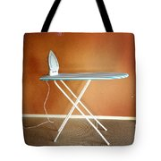 Iron On Board Tote Bag by Les Cunliffe