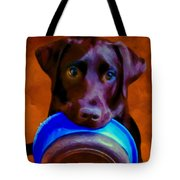 Is It Time Yet? Tote Bag by Michael Pickett