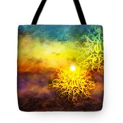 Islamic Calligraphy 020 Tote Bag by Catf