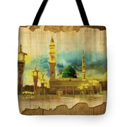 Islamic Calligraphy 035 Tote Bag by Catf
