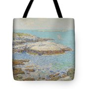 Isles Of Shoals Tote Bag by Childe Hassam