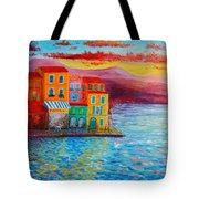 Italian Dream Tote Bag by Bozena Zajiczek-Panus