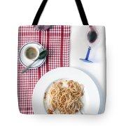 italian food Tote Bag by Joana Kruse