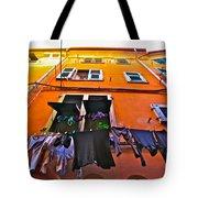 Italian Laundry Tote Bag by Mark Prescott Crannell