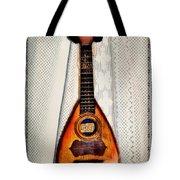 Italian Mandolin Tote Bag by Bill Cannon