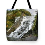 Ithaca Falls Tote Bag by Christina Rollo