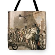 Itinerant Musicians Playing In A Poor Tote Bag by Paul Sandby