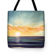 It's A New Beginning Somewhere Else Tote Bag by Gina De Gorna