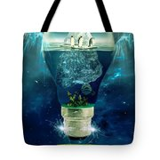 It's The End Of The World As We Know It Tote Bag by Erik Brede