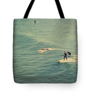 It's The Ride Tote Bag by Laurie Search