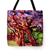 Jacaranda Lane Tote Bag by Michael Durst