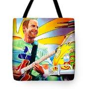 Jack Johnson Tote Bag by Joshua Morton